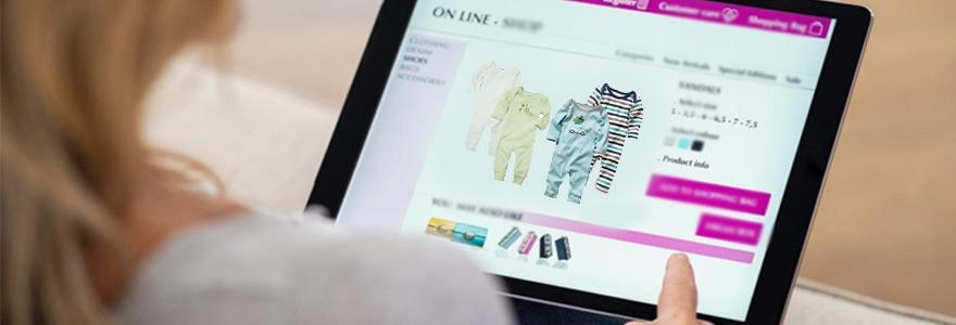 Achat en ligne Vetemens pour enfants